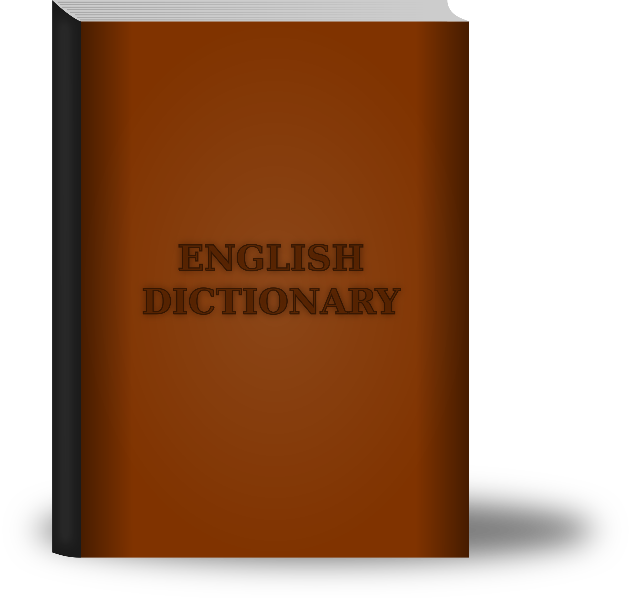 Old image png. Dictionary clipart big book