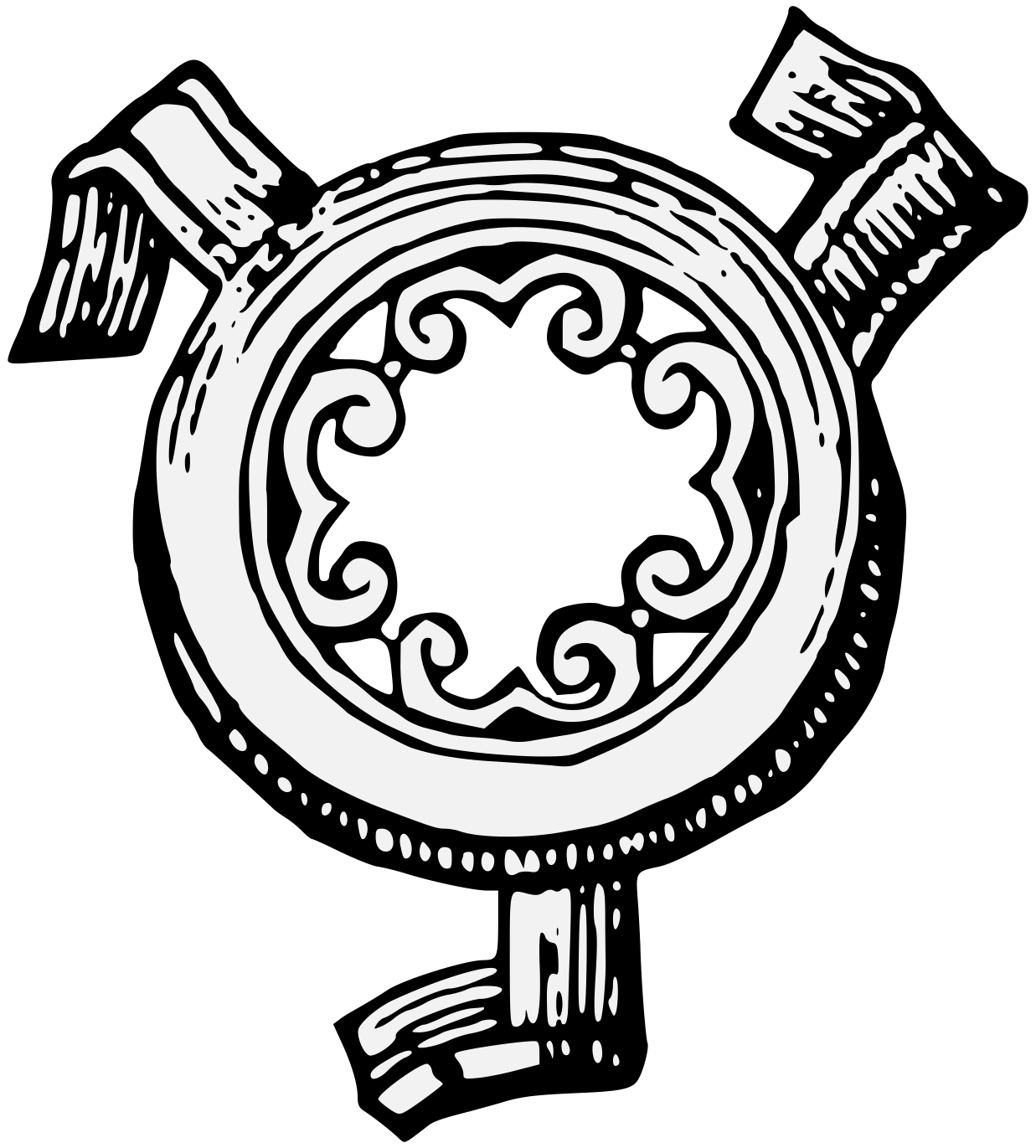 Dictionary clipart book index. Trivet traceable heraldic art