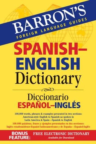 Barron s english diccionario. Dictionary clipart dictionary spanish