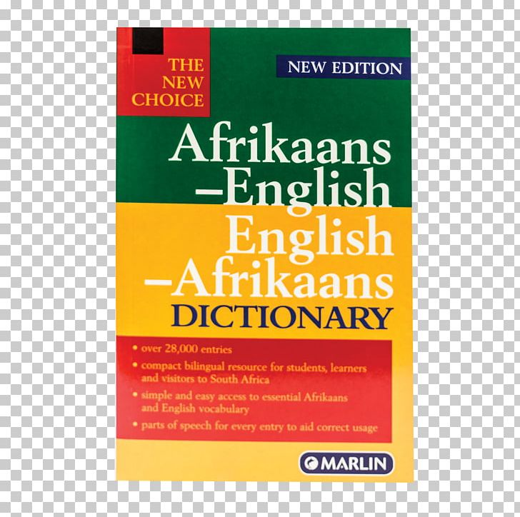 Oxford afrikaans png . Dictionary clipart english dictionary