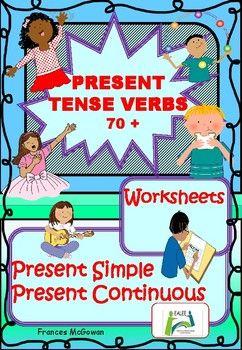Present verbs esl . Dictionary clipart english tense