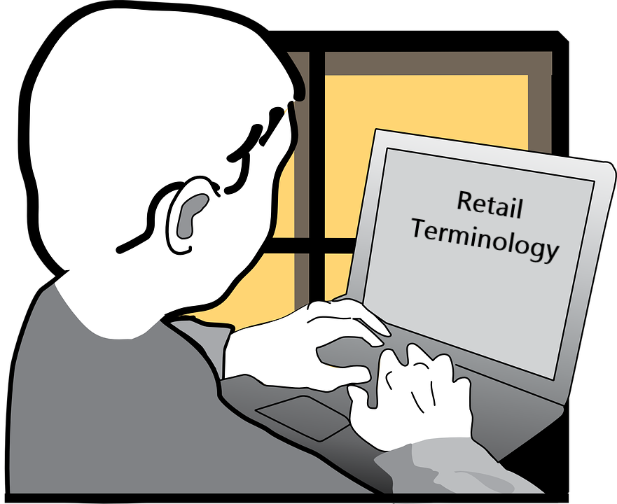 Retail elevator. Dictionary clipart glossary