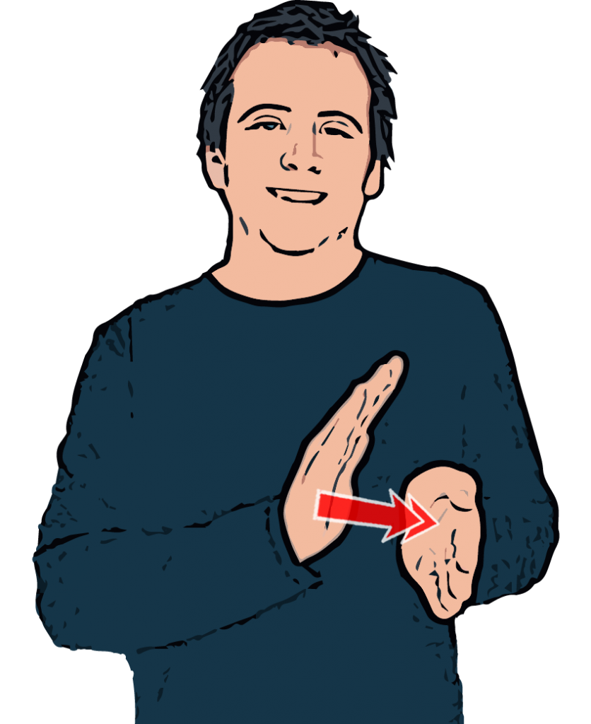 Dictionary clipart interesting person. Happy british sign language