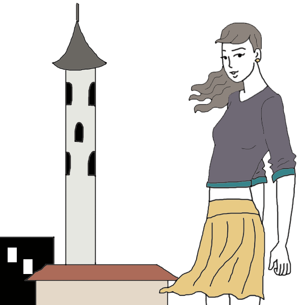 Tower dream dictionary interpret. Dreaming clipart happy person