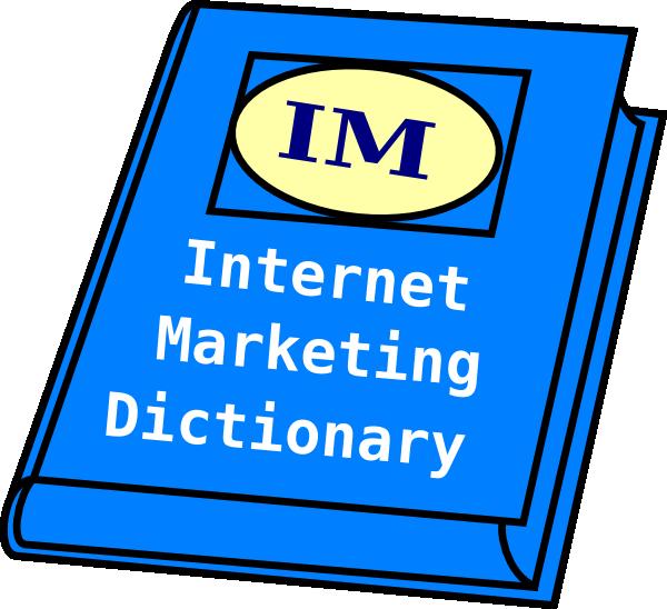 Internet marketing clip art. Dictionary clipart manual