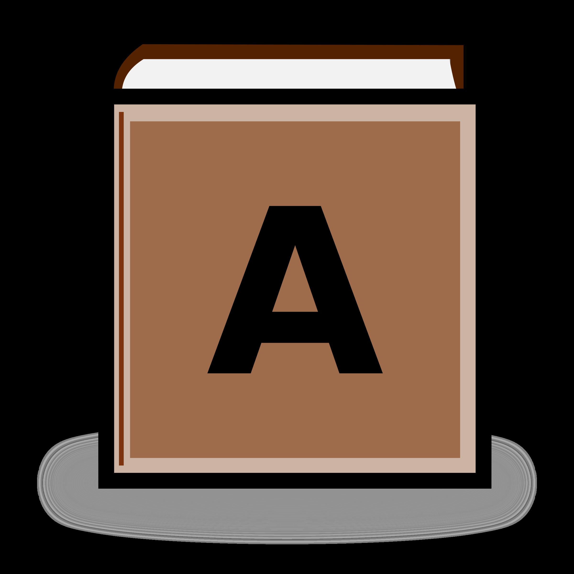 dictionary clipart manual