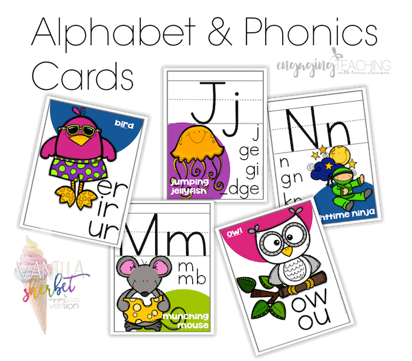 Dictionary clipart phonics. Clean and simple classroom