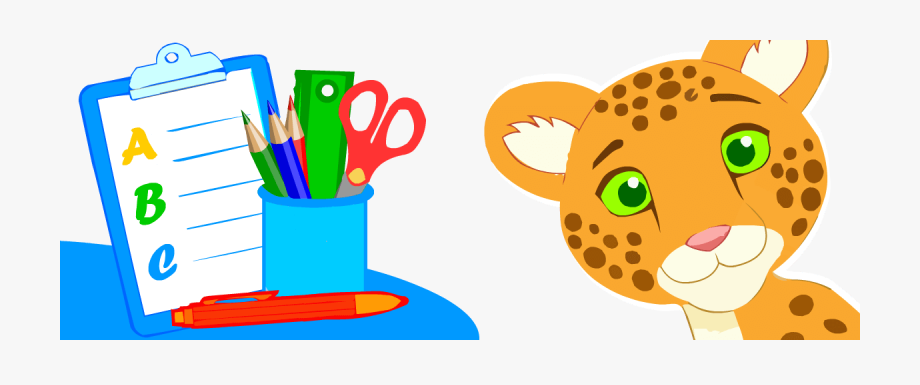 Vocabulary topics for kids. Dictionary clipart practice english