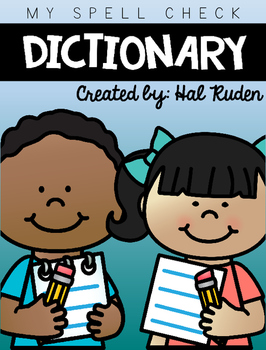 . Dictionary clipart spell check