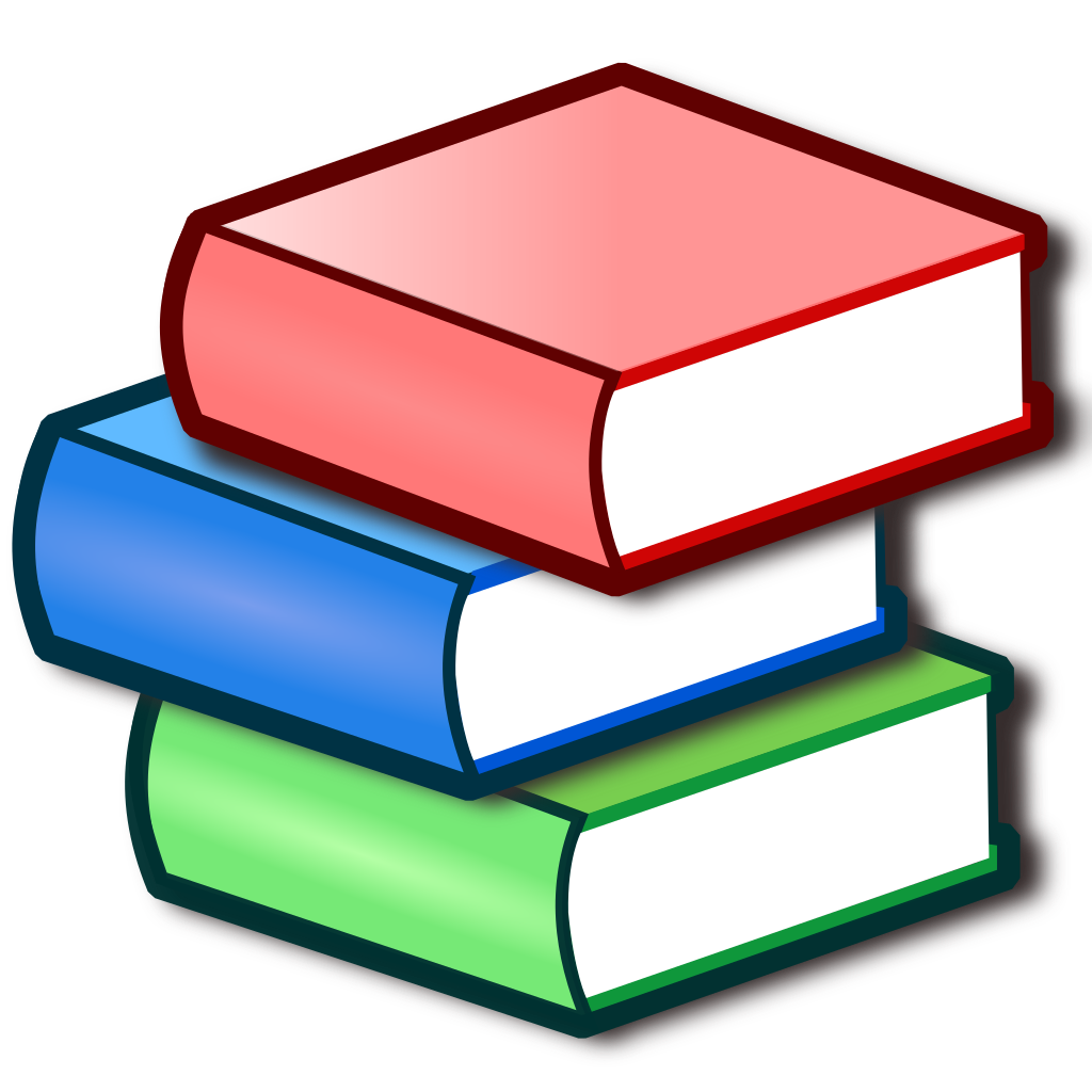 Dictionary clipart svg. File nuvola apps bookcase