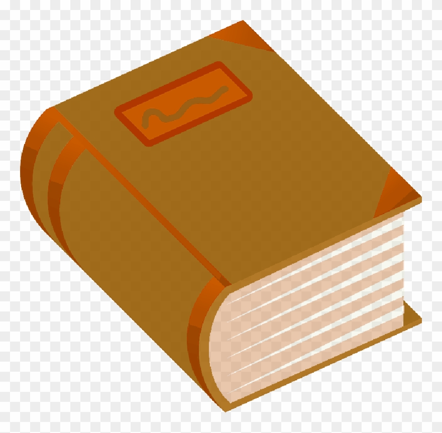 Free books png transparent. Dictionary clipart thick book