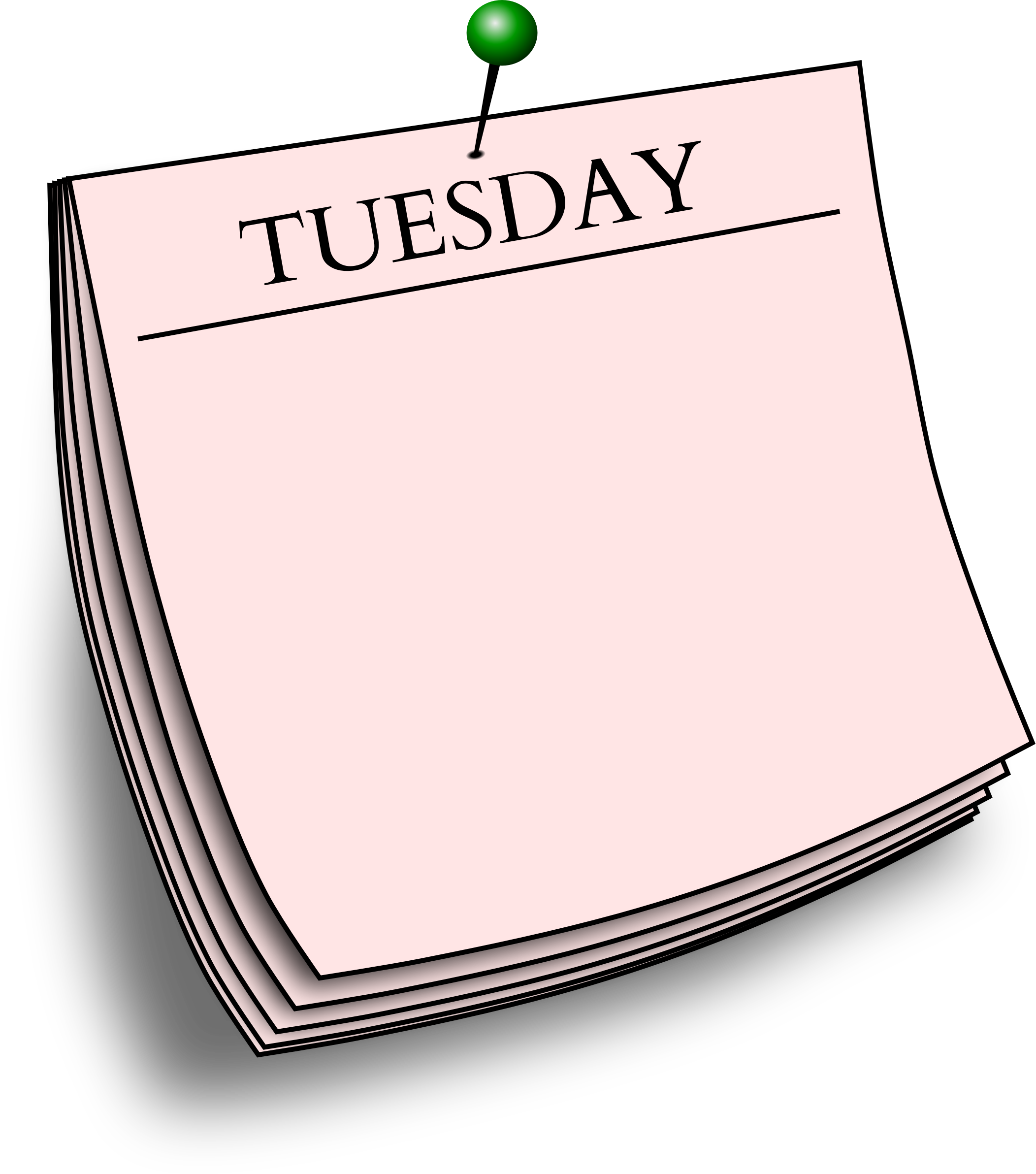 Wednesday clipart mix match day. Play days of the