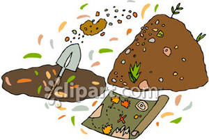 Someone digging for a. Dig clipart buried treasure