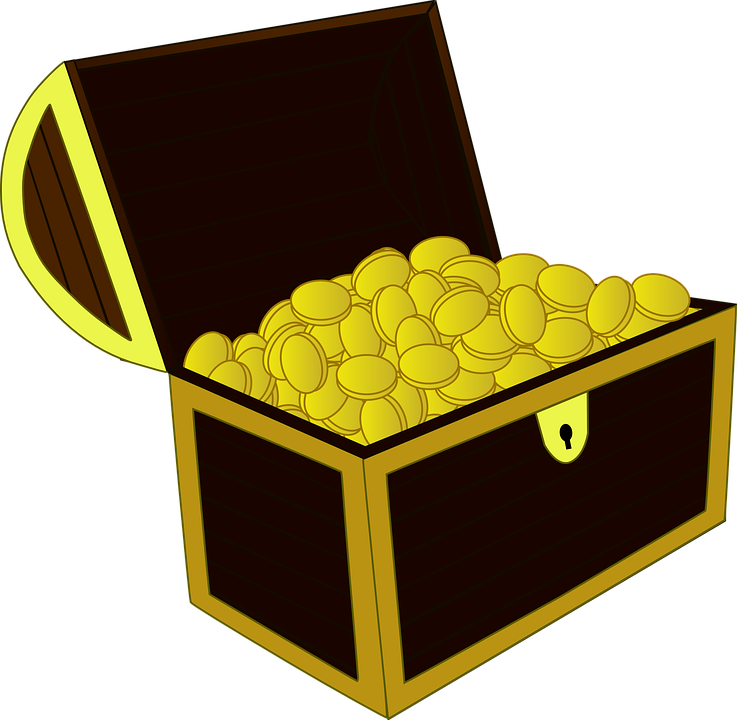 Dig clipart buried treasure. Chest graphic group free