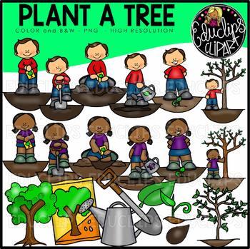 Dig clipart plant tree. A clip art bundle