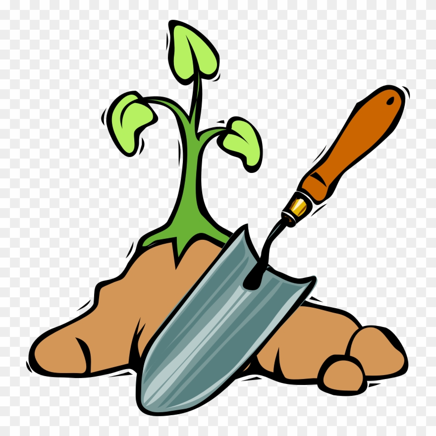 Tree planting tools png. Gardening clipart dig