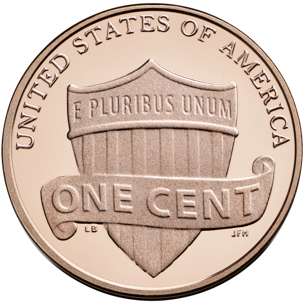 Front and back png. Nickel clipart penny tail
