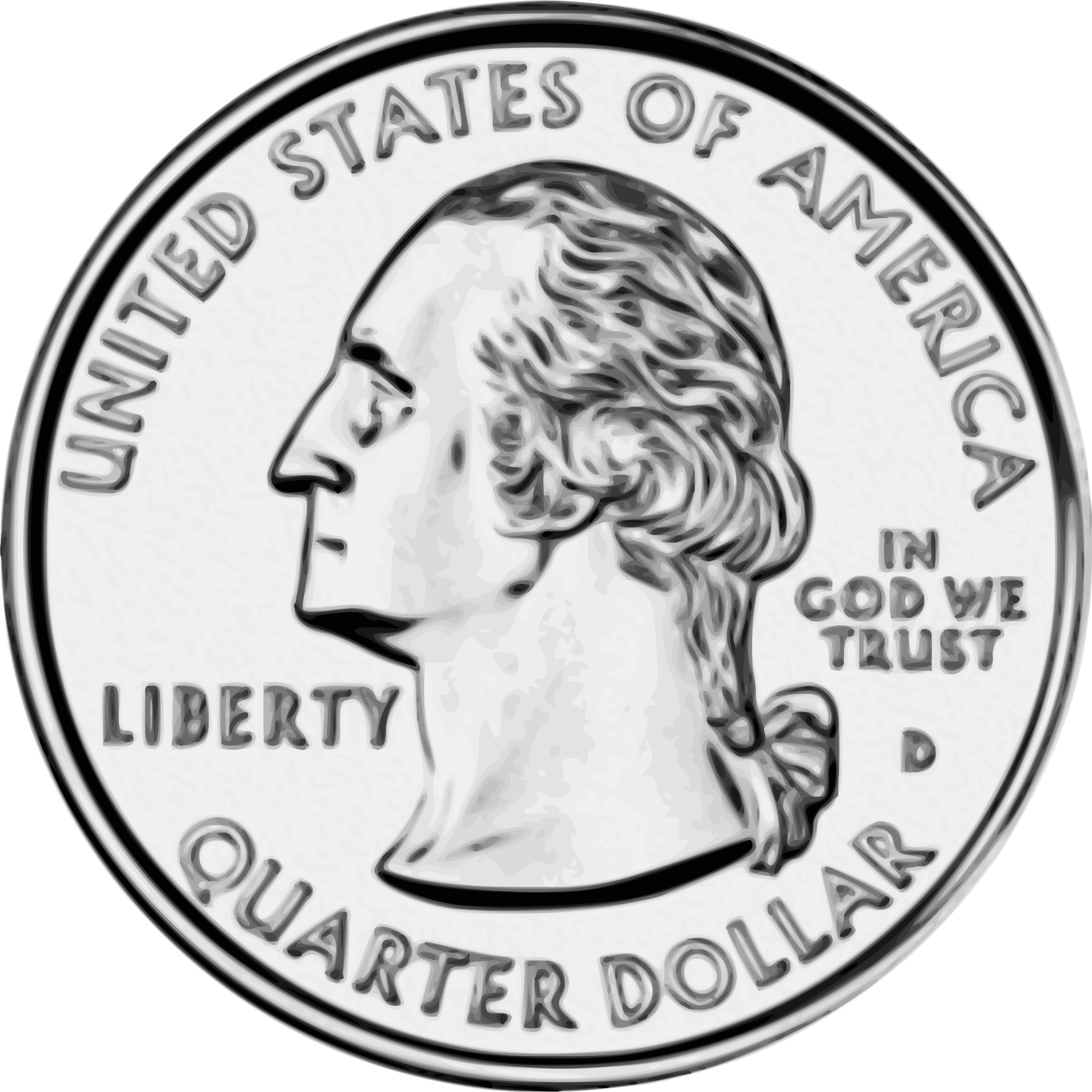 collection of quarter. Nickel clipart money canadian