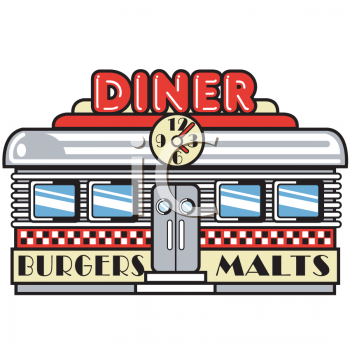 Diner clipart american diner. Pin by becky wirfs