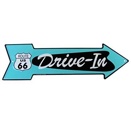 Amazon com route drive. Diner clipart arrow
