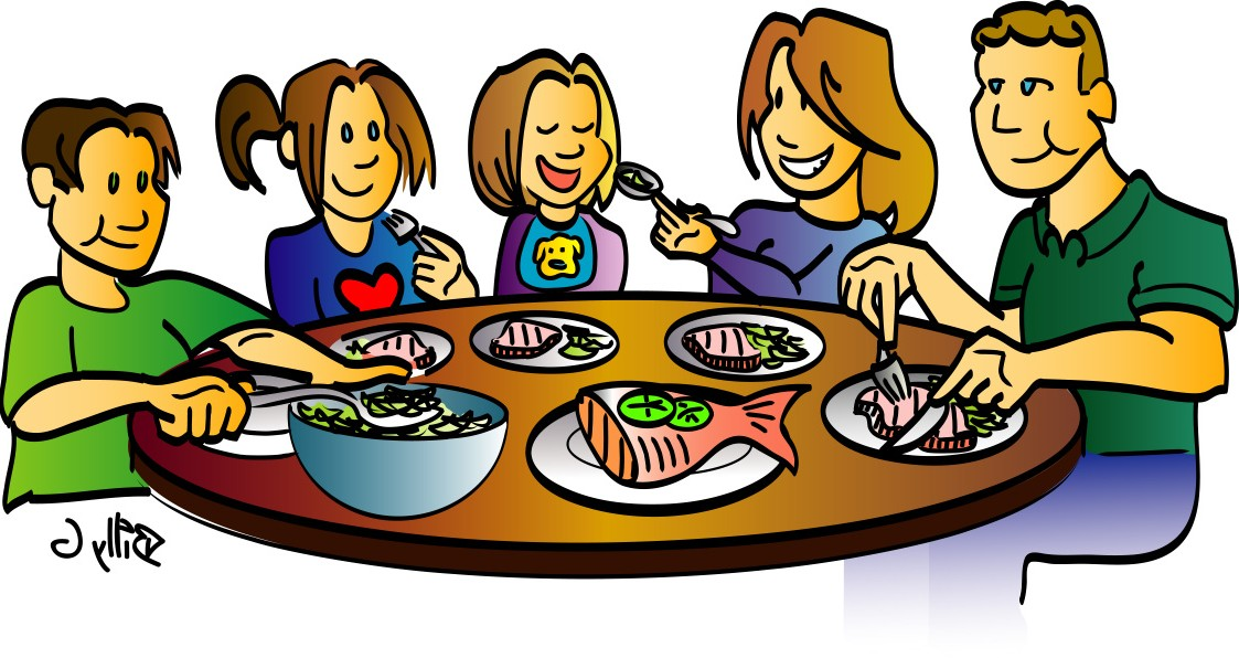 Free diner cartoon cliparts. Dinner clipart animated