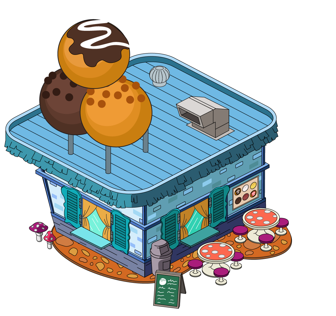 Donut diner family guy. Hole clipart comic