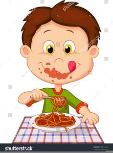 Man eating dinner free. Diner clipart dinning