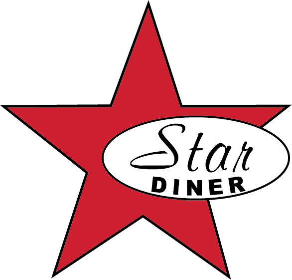 Diner clipart drive in diner. Star welcome