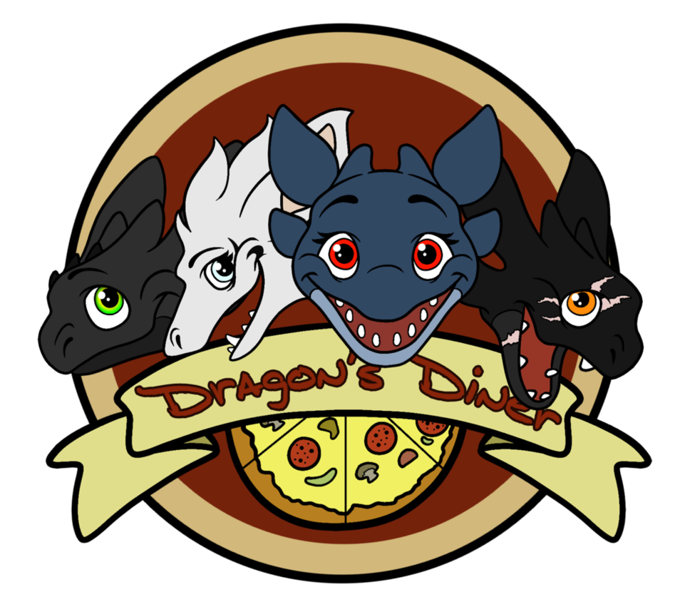 Dragon s logo by. Diner clipart fancy restaurant