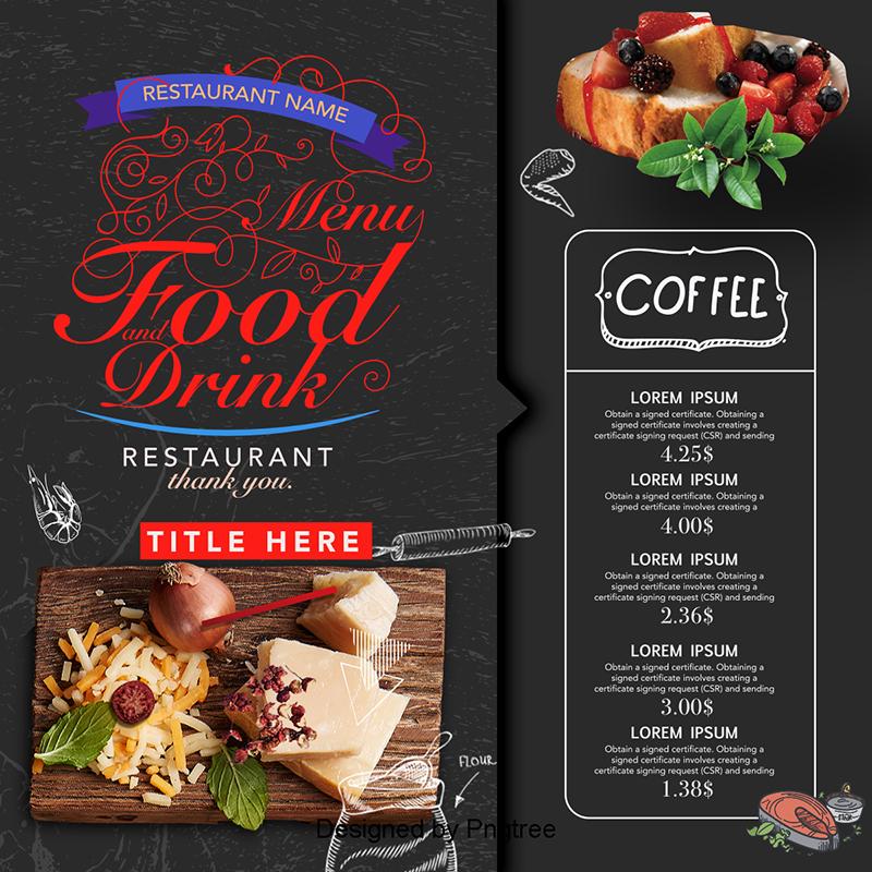 Diner clipart hotel menu. Creative design recipes hotels