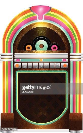 Diner clipart jukebox. Late night retro s