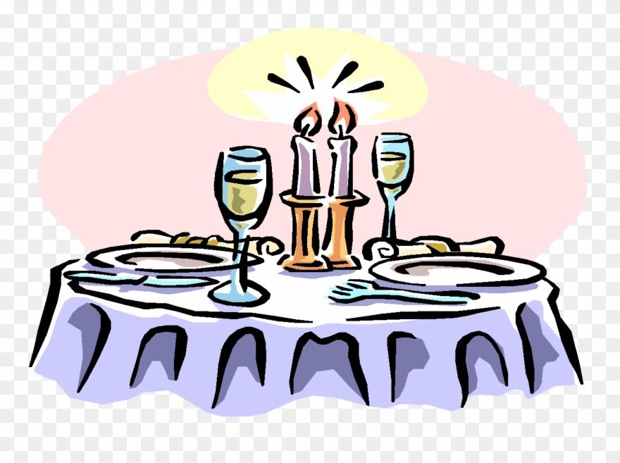 Clip art clipartix christmas. Dinner clipart dinner party
