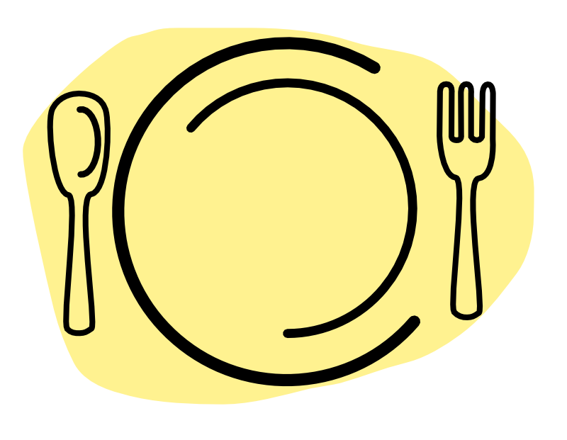 diner clipart plate lunch