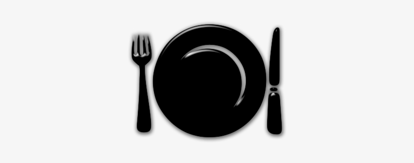 Picture black and white. Diner clipart plate lunch