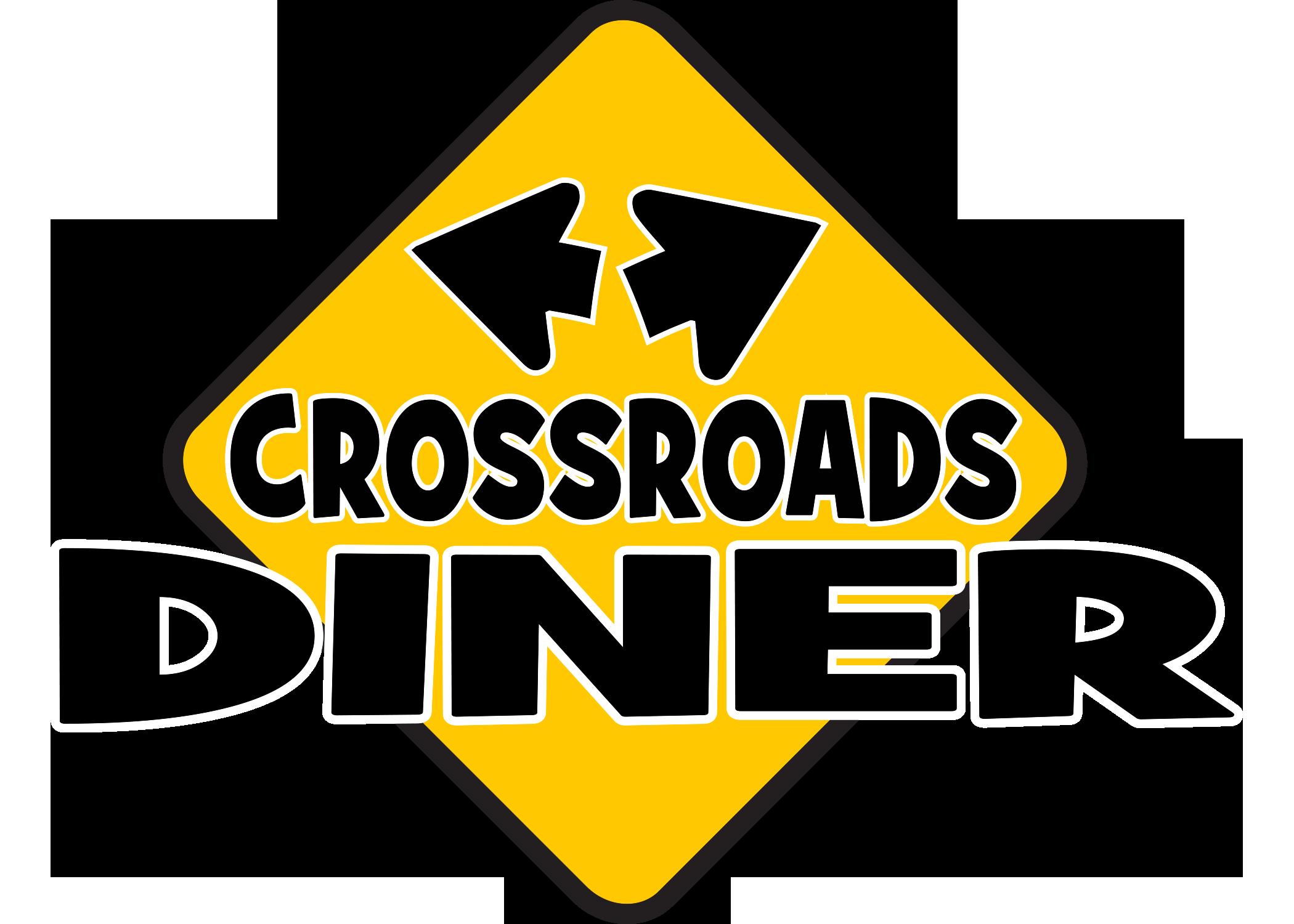 Diner clipart restaurant sign. Bethel me crossroads follow