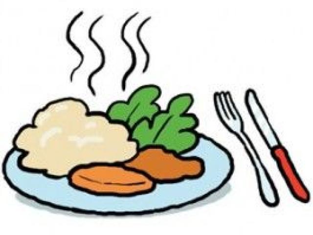 Free download clip art. Diner clipart school dinner