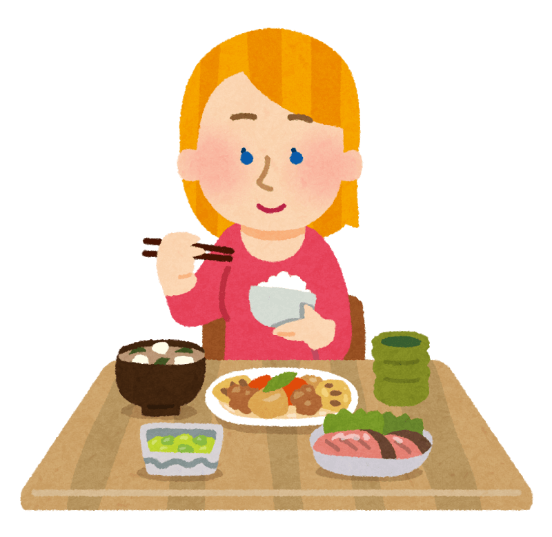 Eat clipart mouth full food.  collection of table