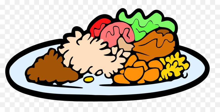Meal clipart. Christmas cartoon dinner food