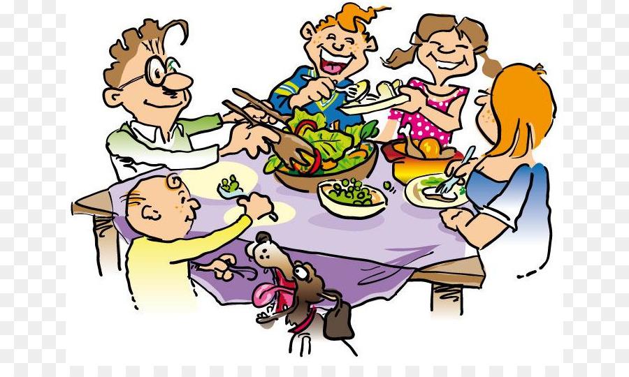 Dinner clipart. Table family clip art