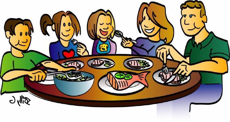 The top best blogs. Dinner clipart