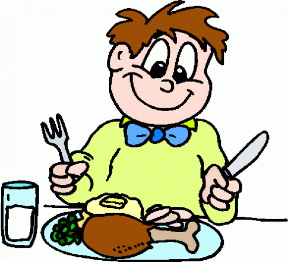 Family table clip art. Dinner clipart