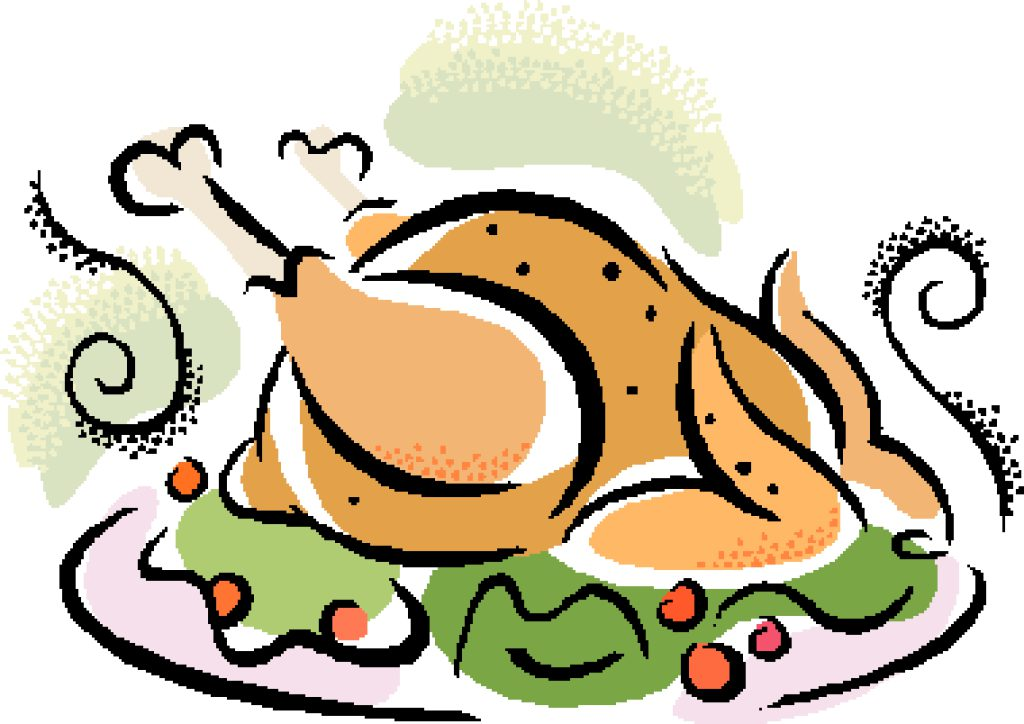 Free turkey pictures download. Dinner clipart 3 course meal