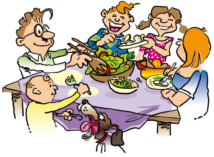 Overall there is not. Dinner clipart big meal