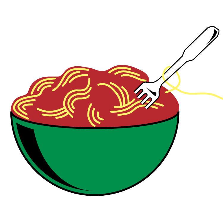 The casual italian full. Dinner clipart bowl pasta