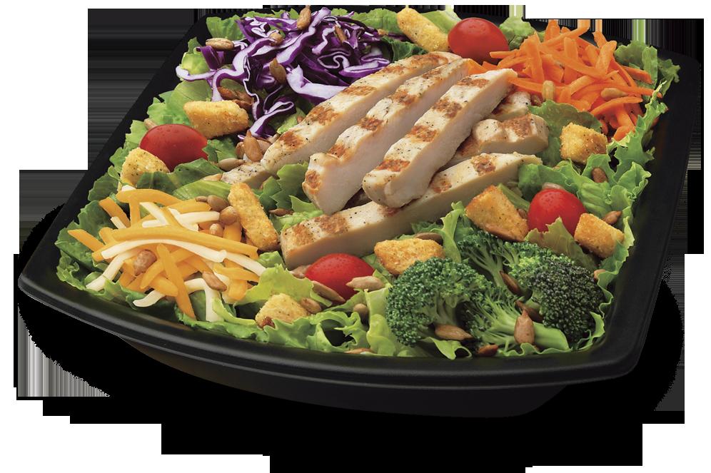 Fat slimdown with sandee. Dinner clipart chicken salad