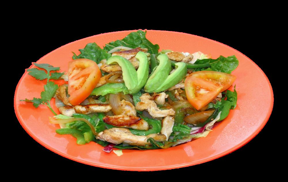 Salads chile verde restaurants. Dinner clipart chicken salad