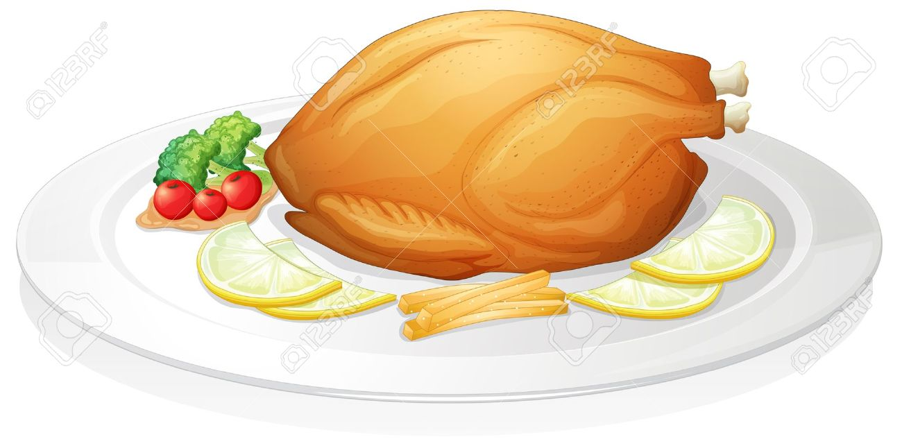 Free cliparts download clip. Dinner clipart chicken vegetable