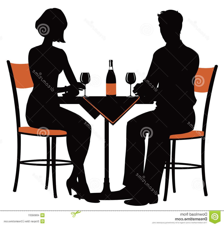 Best hd romantic clip. Dinner clipart couple dinner