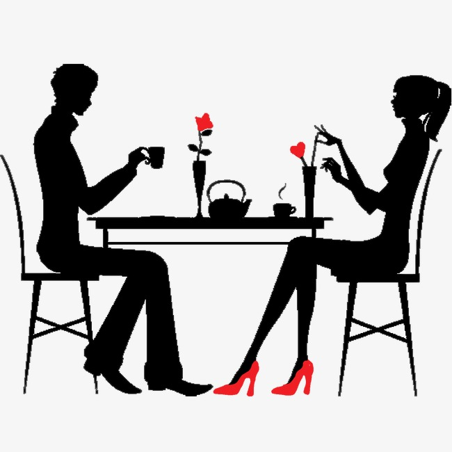 Dinner clipart couple dinner. L png images