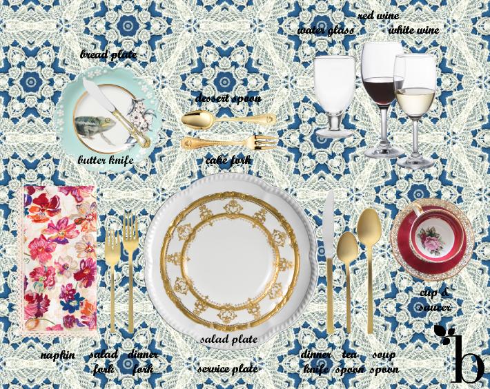 Wowza a beautiful set. Dinner clipart dining etiquette